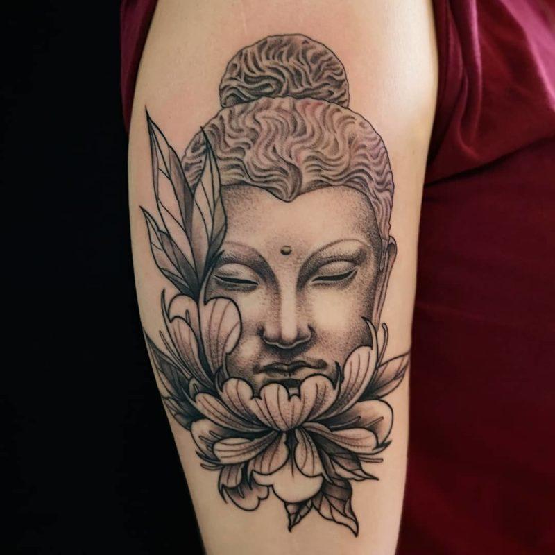 tatuaje budista