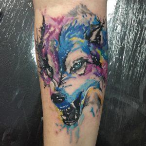 significado tatuajes de lobos