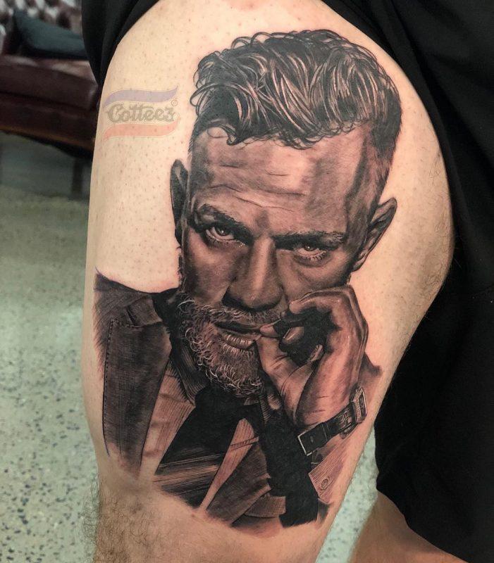 Tatuaje realista de McGregor