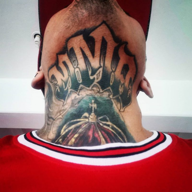 Tatuaje fanático MMA