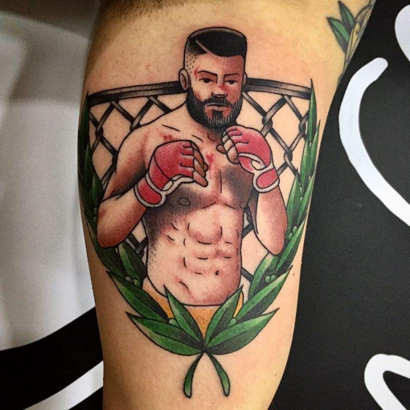 "Lello ""Morbh"" Scarienzo 2018.05.14 MMAfighter On My Man Paolo. Thank U Bro 👌🏻 Done At @tattoopointstudio . . . 800x800, Los Mejores Tatuajes"