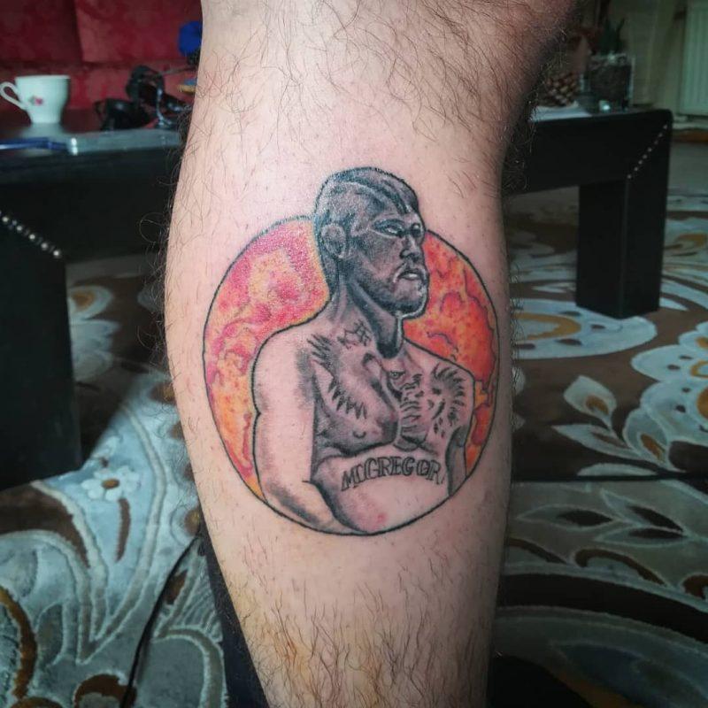 Sandblasted Skin Art 2018.10.22 1 SEANS DAHA...devamedendovme Tattooinprocess Conormcgregortattoo Mmatattoo 800x800, Los Mejores Tatuajes