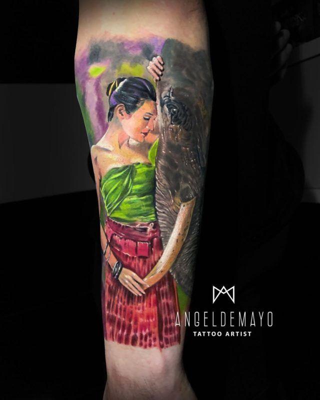 Angeldemayotattooartist 101798016 180566660087873 7814256870885429310 N 640x800, Los Mejores Tatuajes