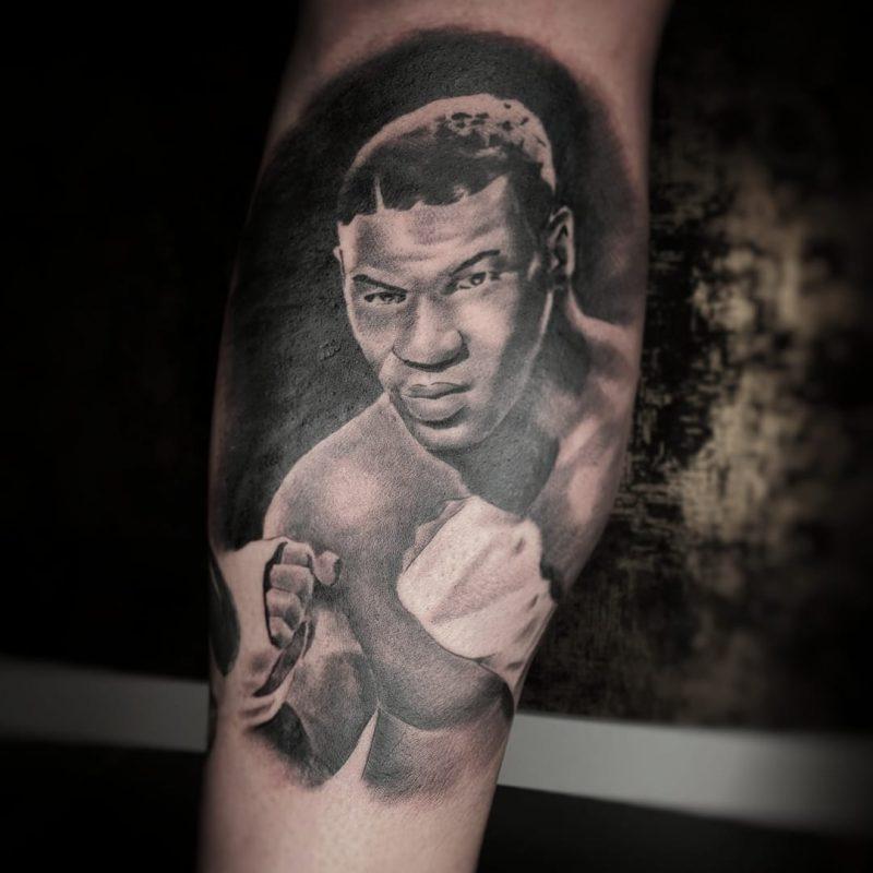 Tatuaje de Mike Tyson