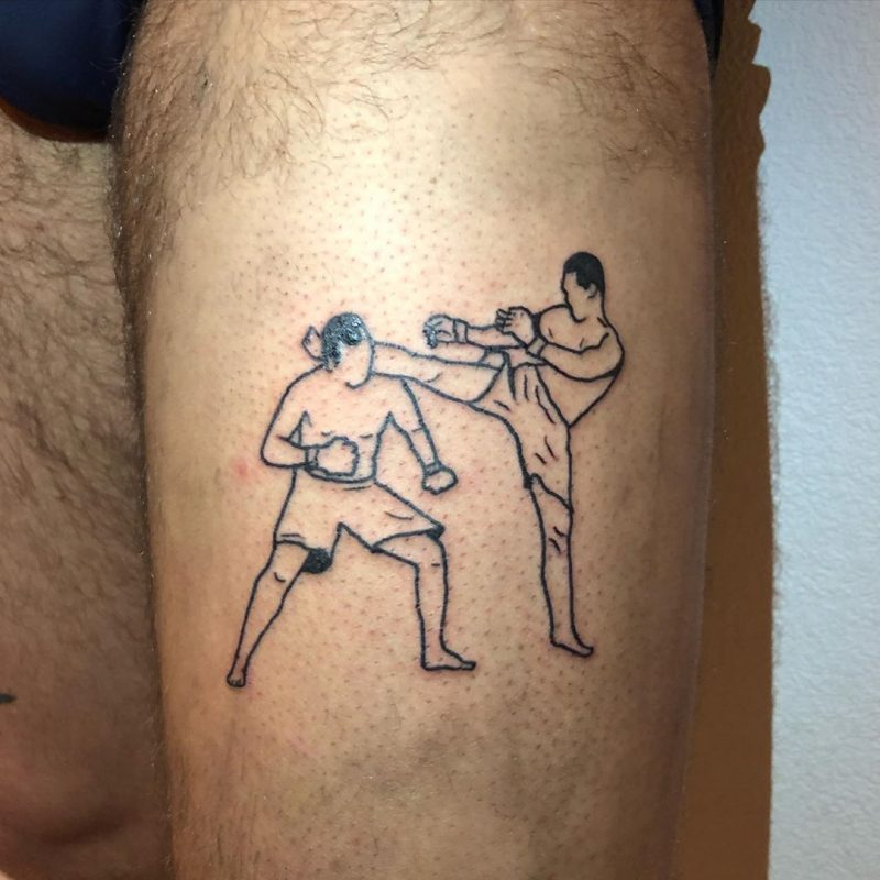 Peleadores de MMA