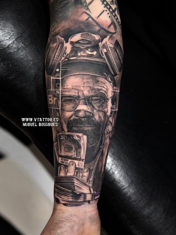 brazo tattoo