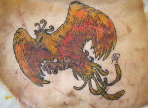 Tatuajes de Ave Fénix