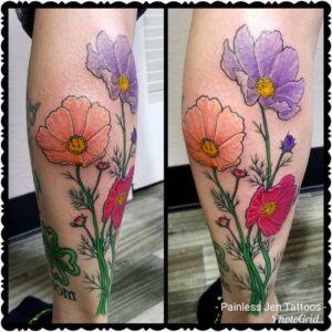 Tatuajes en la Pantorrilla y gemelo
