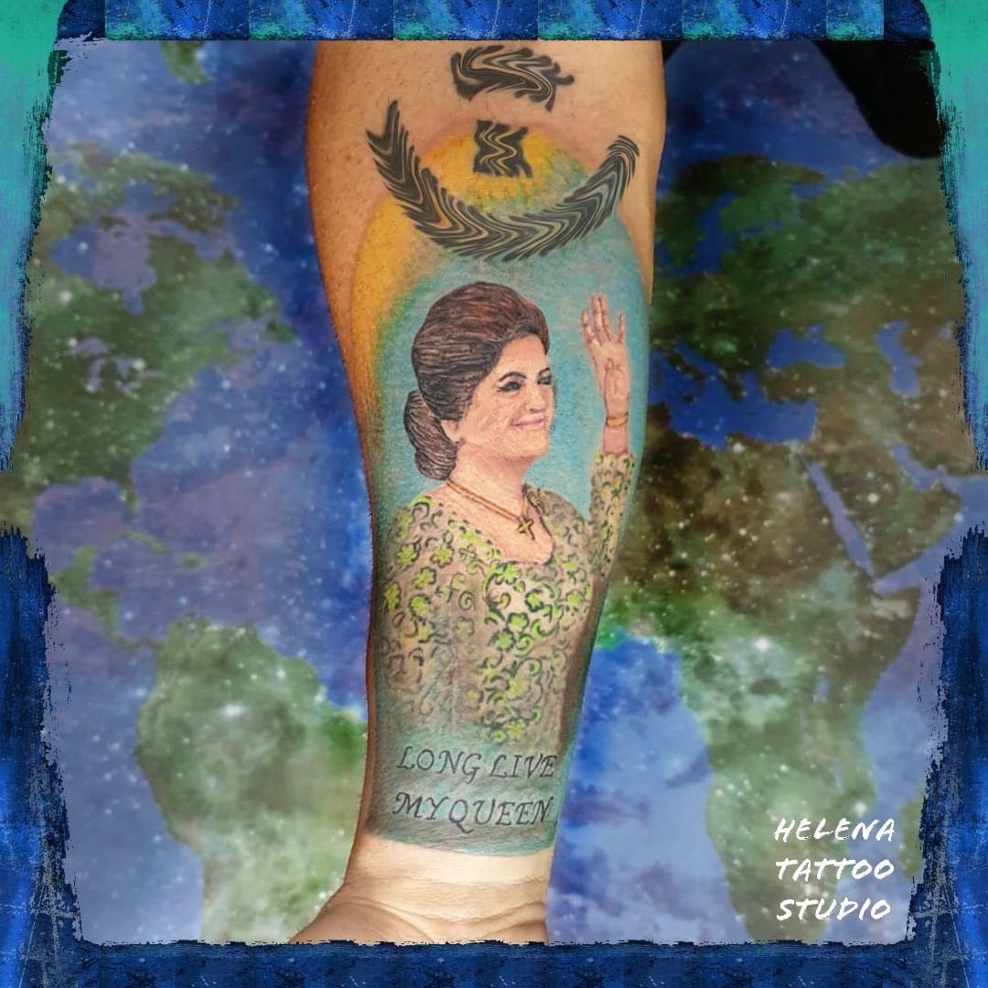 90 Tatuajes de Abuelos Adorables