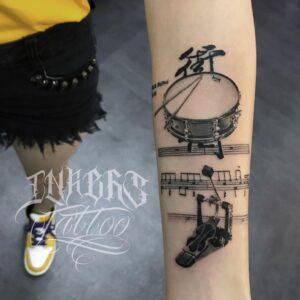 Tatuajes Musicales
