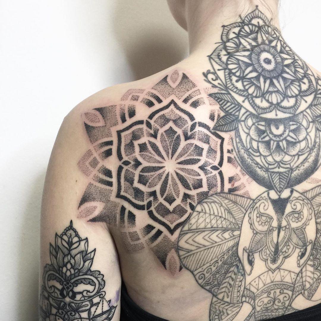 97 Ideas de Tatuajes Mandalas Bonitos y Exclusivos