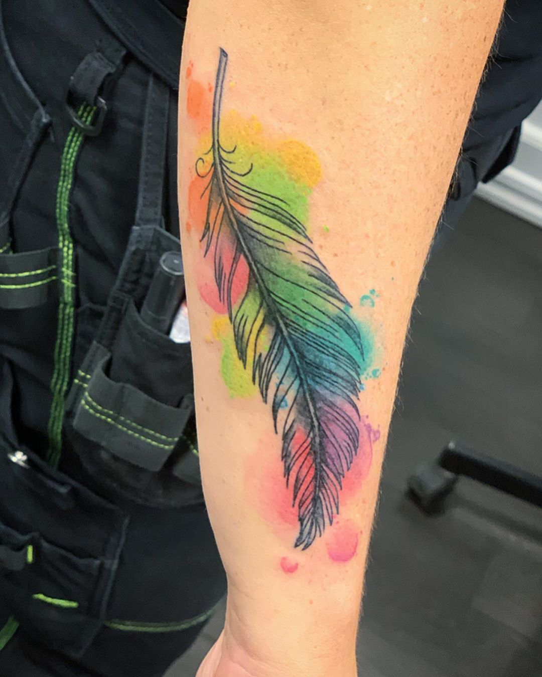 tattoo pluma