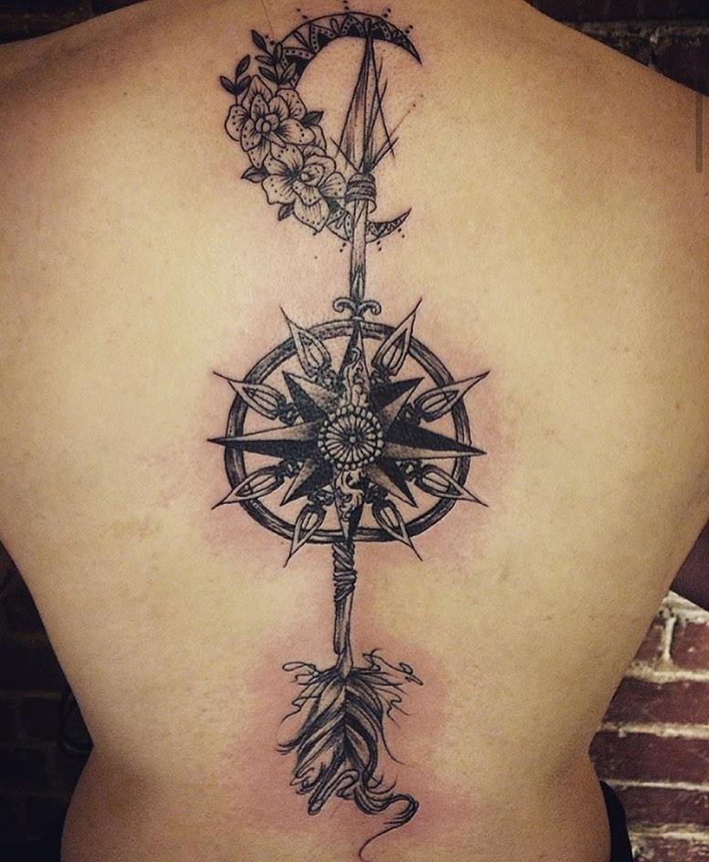 tattoo flechas