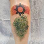 tatuajes de tréboles