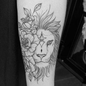 tatuaje lineal