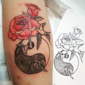Tatuajes Yin Yang
