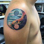tatuajes del ying yang
