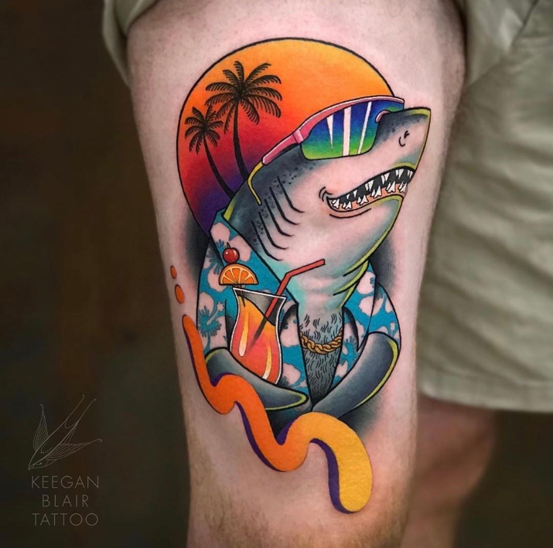 tiburón tattoo