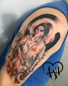 Tatuaje Samurái