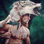 VIKING TATTOOS 🌐 2020.12.09 ⚔️ Berserker or Ulfhednar ⚔️ Reposted From @nekit varyag Model @nekit varyag