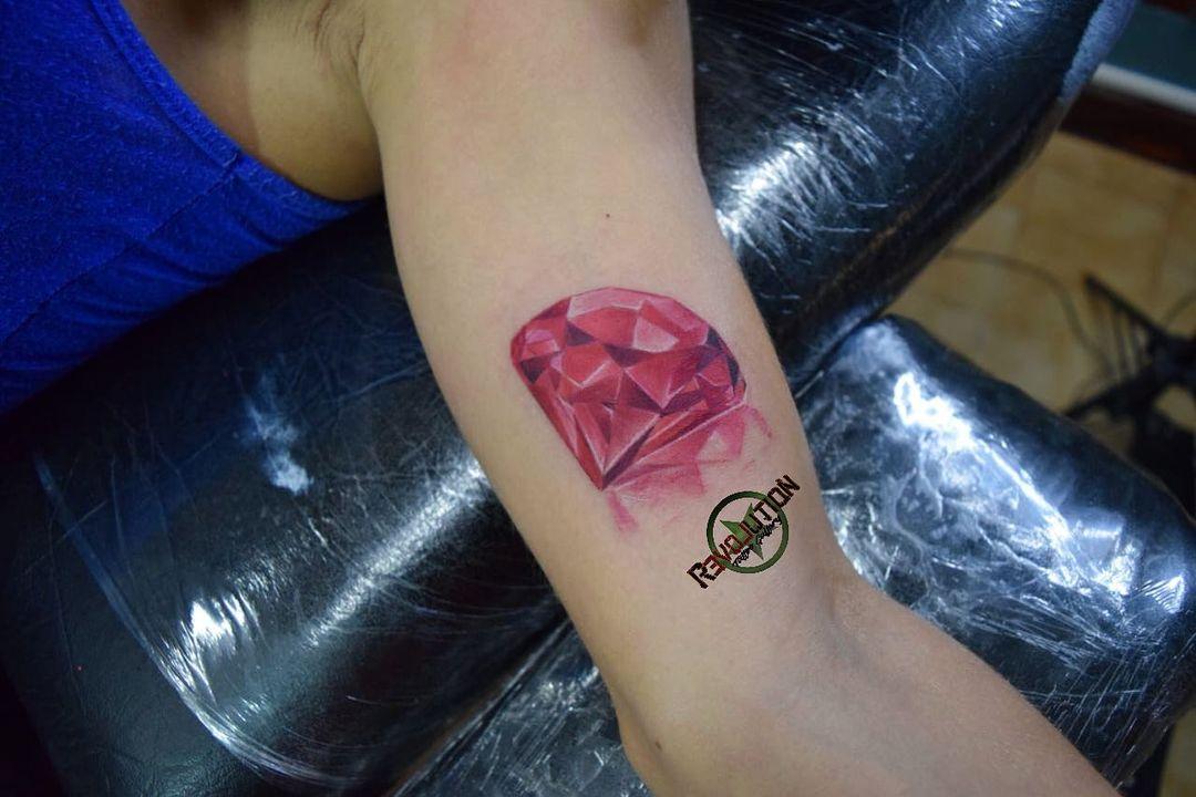 tatuaje de diamante