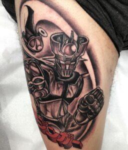 tatuaje de mazinger z