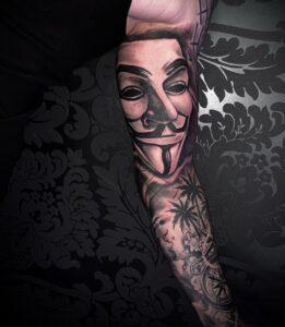 tatuaje v de vendetta
